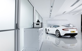 Обои белый, Aston Martin, астон мартин, суперкар, white, cars, auto