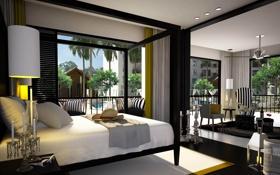 Обои дизайн, стиль, комната, интерьер, отель, Phuket