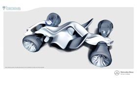 Картинка Concept, Mercedes, Benz, Car, Biome