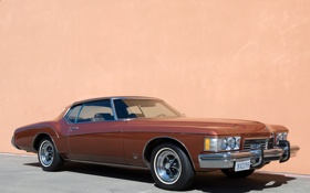 Обои ретро, мускул кар, классика, muscle car, 1973, buick, бьюик