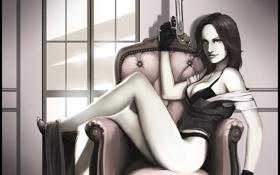 Картинка art, Обитель зла, Resident Evil 6, Helena Harper, fan