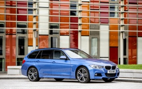 Обои бмв, BMW, Sport, универсал, F31, 2015, Tourng