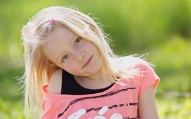 Картинка девочка, настроение, портрет