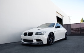 Картинка BMW, White, E93, Alpine