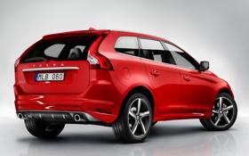 Картинка car, авто, Volvo, red, wallpapers, R-design, XC60