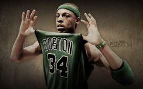 Обои basketball, nba, boston celtics, Paul Pierce, Пол Пирc