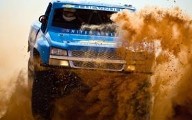 Картинка песок, Chevrolet, Truck, Trophy, Silverado