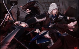 Обои black flag, Kenway, assassins creed, Edward