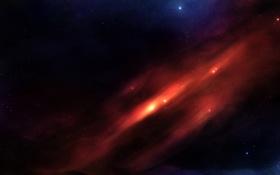 Обои созвездие, звезды, пространство, blame, бесконечность