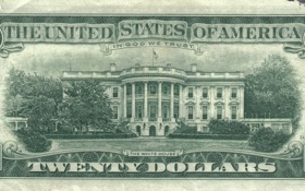Обои green, america, states, money, god, united, twenty