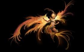 Картинка феникс, phoenix, железный, iron