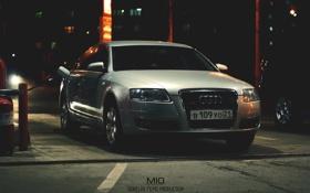 Обои Audi, заправка, фотограф, перед, photographer, films, азс
