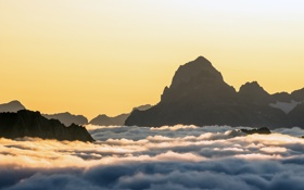 Обои Alpen, Chli Windgällen, Gross Windgällen, Schweiz, Альпы, Швейцария