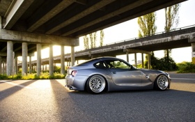 Обои серебристая, BMW, бмв, silver