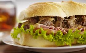 Картинка тарелка, бутерброд, сэндвич