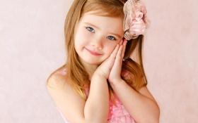 Картинка дети, платье, девочка, принцесса
