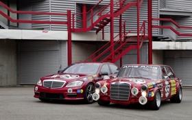 Обои машина, авто, ретро, обои, тачка, wallpaper, Mercedes