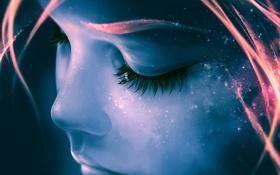 Обои арт, живопись, upscale, AquaSixio