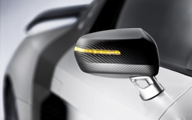 Картинка Audi, зеркало