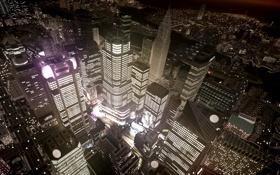 Обои ночь, город, нью йорк, gta, Grand Theft Auto IV