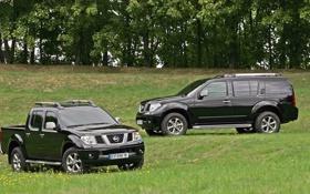 Обои navara, Nissan, трава