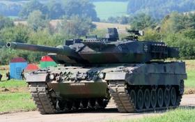 Обои оружие, танк, Leopard