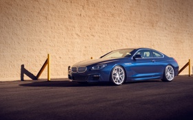 Картинка BMW, blue, tuning, 650i, F13