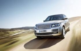 Картинка car, Land Rover, Range Rover, speed