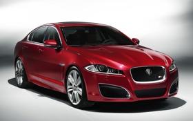 Обои авто, красный, Jaguar