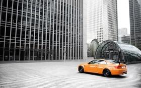 Картинка бмв, здание, BMW, авто, GTS