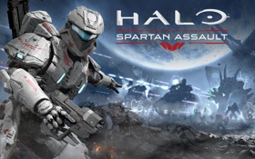 Картинка костюм, коммандер, Сара Палмер, Vanguard Games, Sarah Palmer, броня, Halo: Spartan Assault
