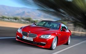 Обои Красный, Авто, BMW, Машина, БМВ, Капот, Фары
