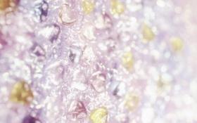 Картинка стекло, сияние, блеск, сердечки, текстуры, боке, обои от lolita777