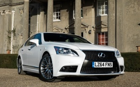 Обои Lexus, 2012, лексус, UK-spec, F-Sport, LS 460