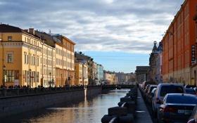 Картинка улица, Питер, Река, Санкт-Петербург, Россия, Russia, спб