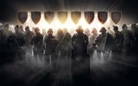 Обои оружие, полиция, бойцы, спецназ, Tom Clancys, Rainbow Six Siege, Pro League
