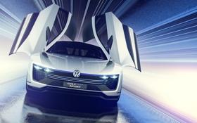 Обои Concept, Volkswagen, гольф, Golf, фольксваген, Sport, GTE