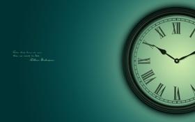 Картинка шекспир, зеленый, слова, часы