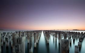 Обои Australia, Port Melbourne, Princes Pier, Victoria, Melbourne