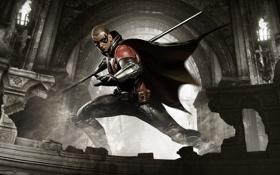 Обои Batman: Arkham Knight, Бэтмен: Рыцарь Аркхема, Экипировка, DLC, Свет, Маска, Взгляд