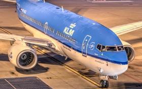 Картинка авиация, аэропорт, самолёт, Boeing 737