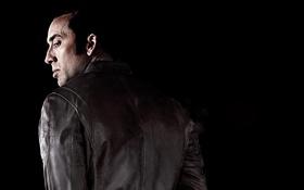 Обои Николас Кейдж, черный фон, боевик, Nicolas Cage, Гнев, Tokarev