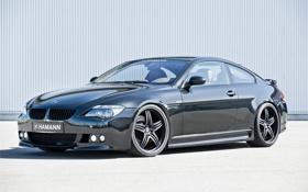 Картинка блеск, BMW, черная, hamann