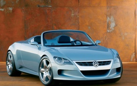 Обои авто, тачки, концепт, VW-Concept-R, авто обои, cars, фольксваген