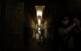 Обои полиция, бандит, Metro 2033, сват