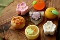 Картинка вагаси, japanese sweets, wagashi, сладости