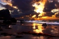 Картинка небо, океан, Arctic sunrise