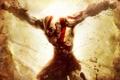 Картинка боль, цепи, Kratos, Кратос, PS3, шрамы, прикован