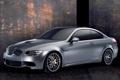 Картинка Авто, BMW, Колеса, Машина, Серый, Капот, Фары