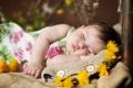 Картинка настроение, сон, девочка